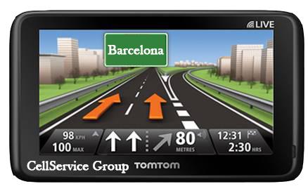 Actualizar GPS Barcelona