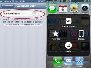 Assistive Touch iPhone
